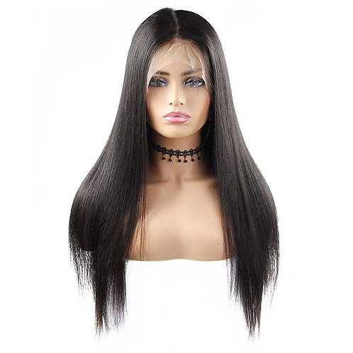 Virgin Brazilian Transparent Straight Lace Front Wig