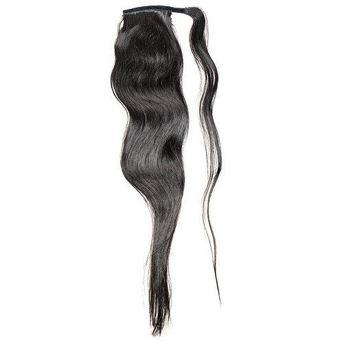 Virgin Natural Black Ponytail