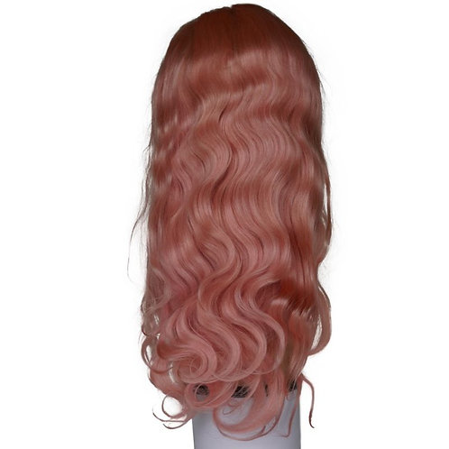 Remy Light Pink Front Lace Wig