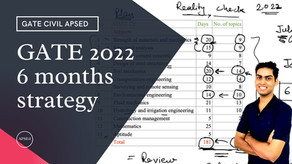Prepare for GATE Civil from July   GATE 2022 Preparation Strategy