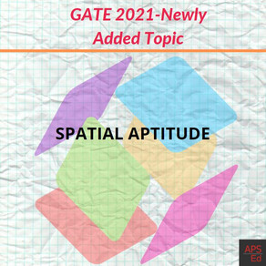 Spatial Aptitude | Mirror Image and  Paper folding