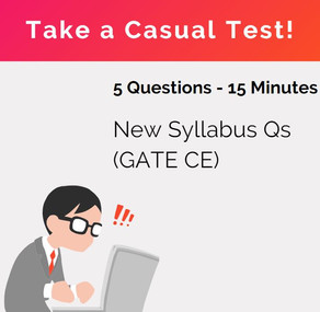 GATE 2021 - New Syllabus | Additional Concepts for GATE CE