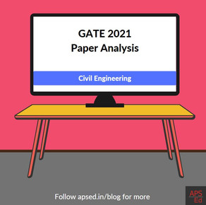 GATE 2021 Civil Engineering Paper Analysis | Key Highlights and Subjectwise Weightage