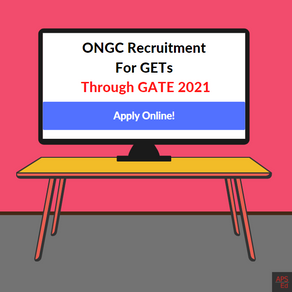 ONGC Recruitment through GATE 2021 CE & ES