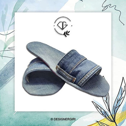 PURE DENIM UPCYCLED - FASHION FLIP FLOPS