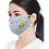 Thumbnail: Handmade Embroidered Mask - Cotton Mix