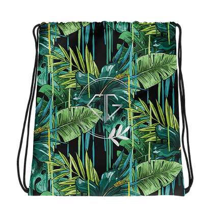 Tropical print - Drawstring bag
