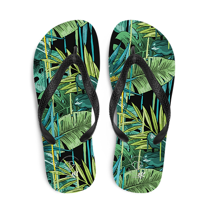 Tropical Prints - Flip-Flops