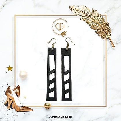 LEATHER FASHION ACCESSORIES - EARRINGS