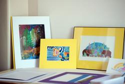 Original Gouache and Giclee Prints