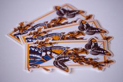 Arizona Sister Butterfly Vinyl Stickers