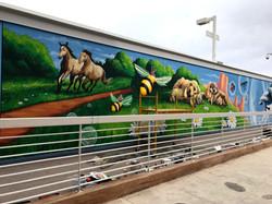 Mural at Banner