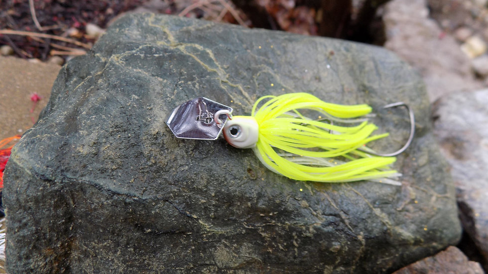 Rev Chatter 10G - Chartreuse White