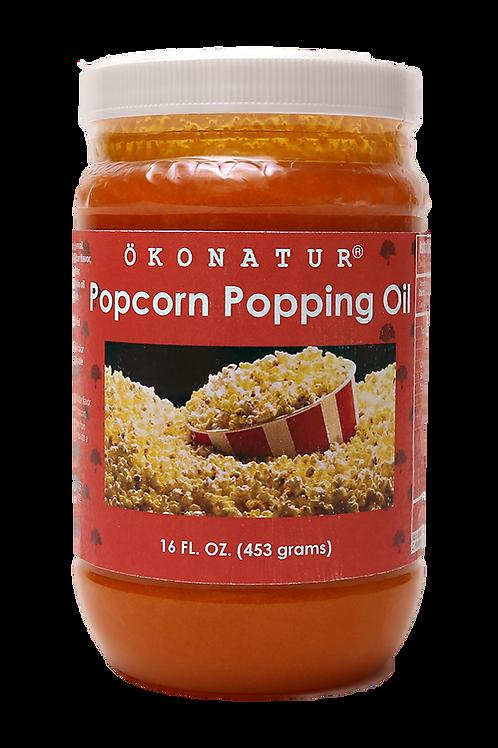 Organic Popcorn Popping Oil