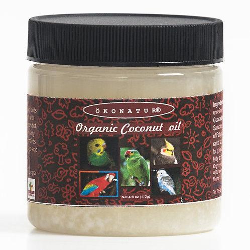 Organic Coconut oil 4 oz