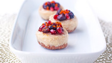 Dairy-free, antioxidant Cashew and Coconut Cheesecake