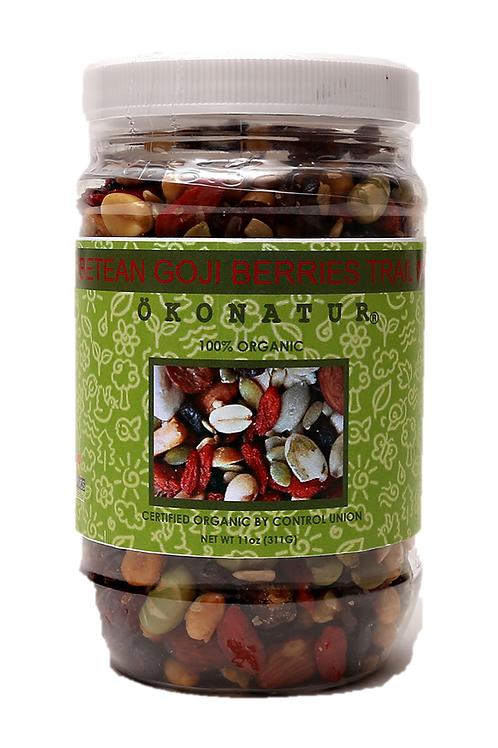 Organic Super Antioxidant Goji Berry Trail Mix