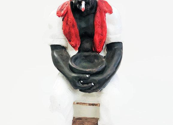 Santeria Francisco LARGE Figure | Estatua de Francisco