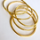 Thumbnail: OSHUN Gold-Plated Bangles