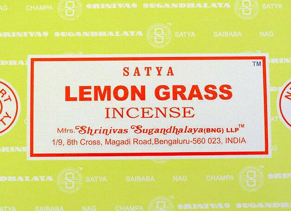 LEMONGRASS Satya Nag Champa - Indian Incense Sticks - Bulk Incens