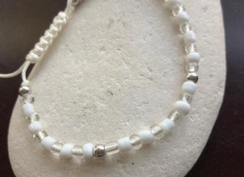 Adjustable OBATALA Cord Bracelet | Ilde de OBATALA