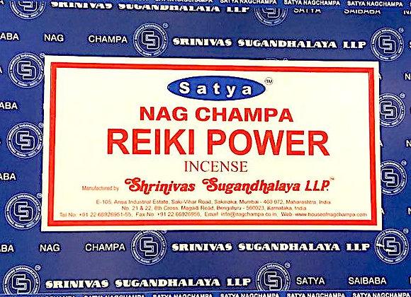 REIKI POWER Satya Nag Champa - Indian Incense Sticks