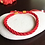 Thumbnail: Feng Shui Lucky Red Cord String Bracelets (6)