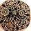 Thumbnail: Spherical Dome Copper Incense Resin Burner | Artisan Craft