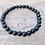 Thumbnail: Natural Obsidian Bead Bracelet | Pulsera Obisidian