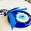 Thumbnail: Evil Eye Protection + 3 OM Symbol Amulet Charm