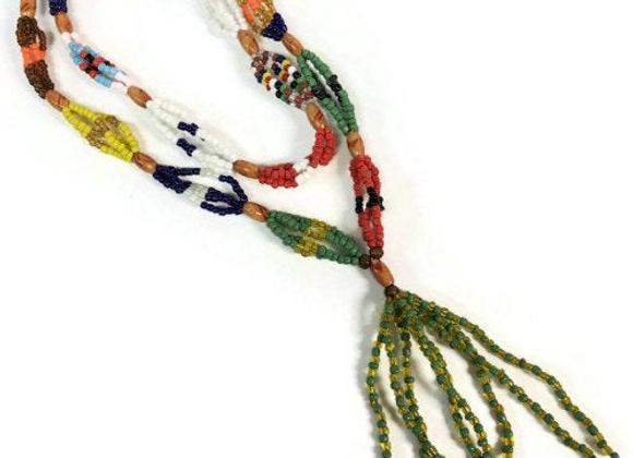 Mazo de Las 7 Potencias   7 African Powers Mazo Necklace