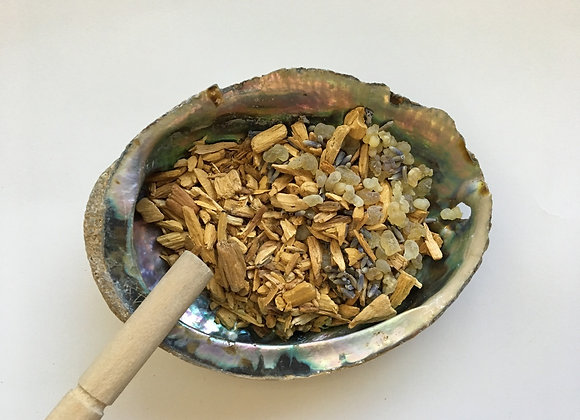 Protection Resin Herbal Smudge Blend