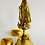 Thumbnail: Caridad del Cobre Large Brass Bell | Virgin Mother Lady of Charity Bell