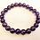 Thumbnail: Amethyst Crystal Elastic Bracelet | Pulsera Amatista