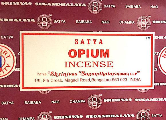 OPIUM Satya Nag Champa - Indian Incense Sticks - Bulk Incense