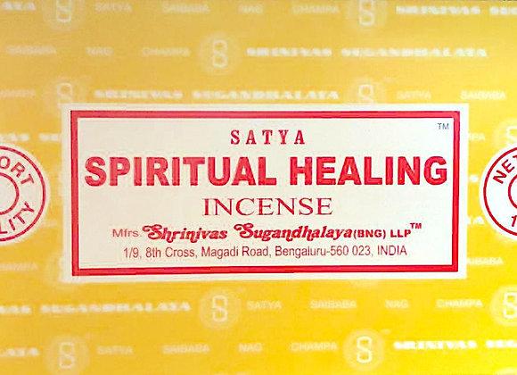 SPIRITUAL HEALING Satya Nag Champa - Indian Incense Sticks - Bulk Incense
