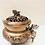 Thumbnail: Copper Fu Dog Detailed Metal Burner for cones, resins, incense, herbs.