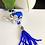 Thumbnail: Blue Elephant Evil Eye Protection Charm