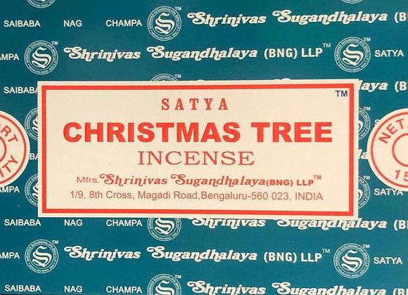 CHRISTMAS TREE Satya Nag Champa - Indian Incense Sticks