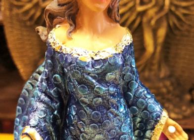 Diosa del Mar Figurine | Queen of the Sea Statuette
