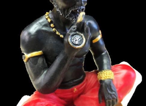 Negro Jose | PAPA CANDELO Statue Figurine | El Viejo Candelo
