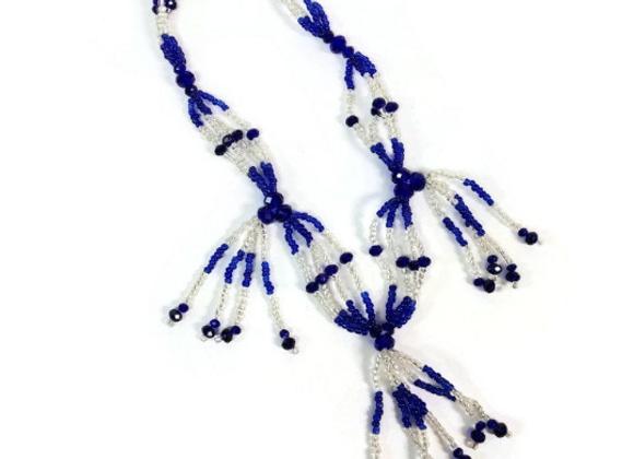 Collar Mazo de YEMAYA | YEMAYA Orisha Mazo Necklace