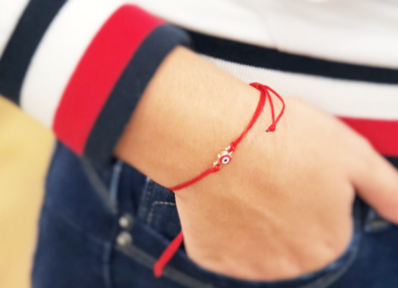 Red String Evil Eye Protection Bracelet against Envy & Backbiting