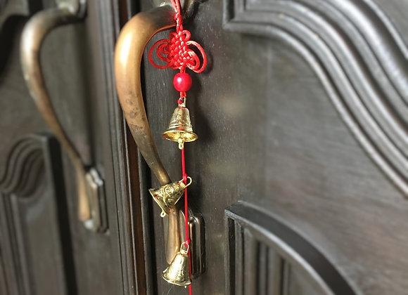 Feng Shui 6 Bells String Door Hanger Charm | Good News & Prosperity
