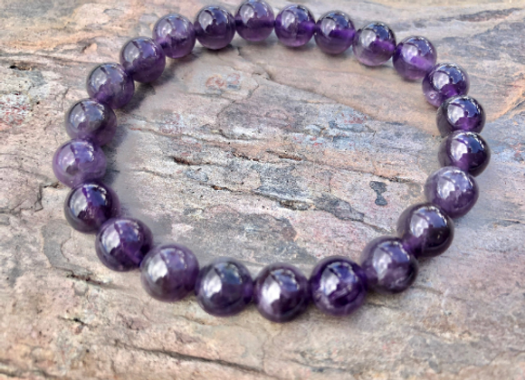Amethyst Crystal Bracelet | Pulsera Amatista