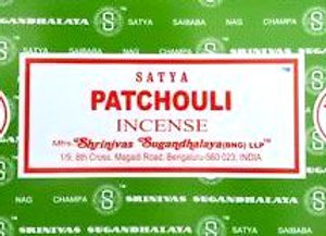 PATCHOULI Satya Nag Champa - Indian Incense Sticks - Bulk Incense