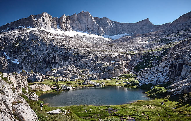 Finger Peak from the Basin