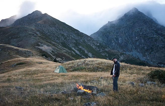 Satibe campsite, Turkey