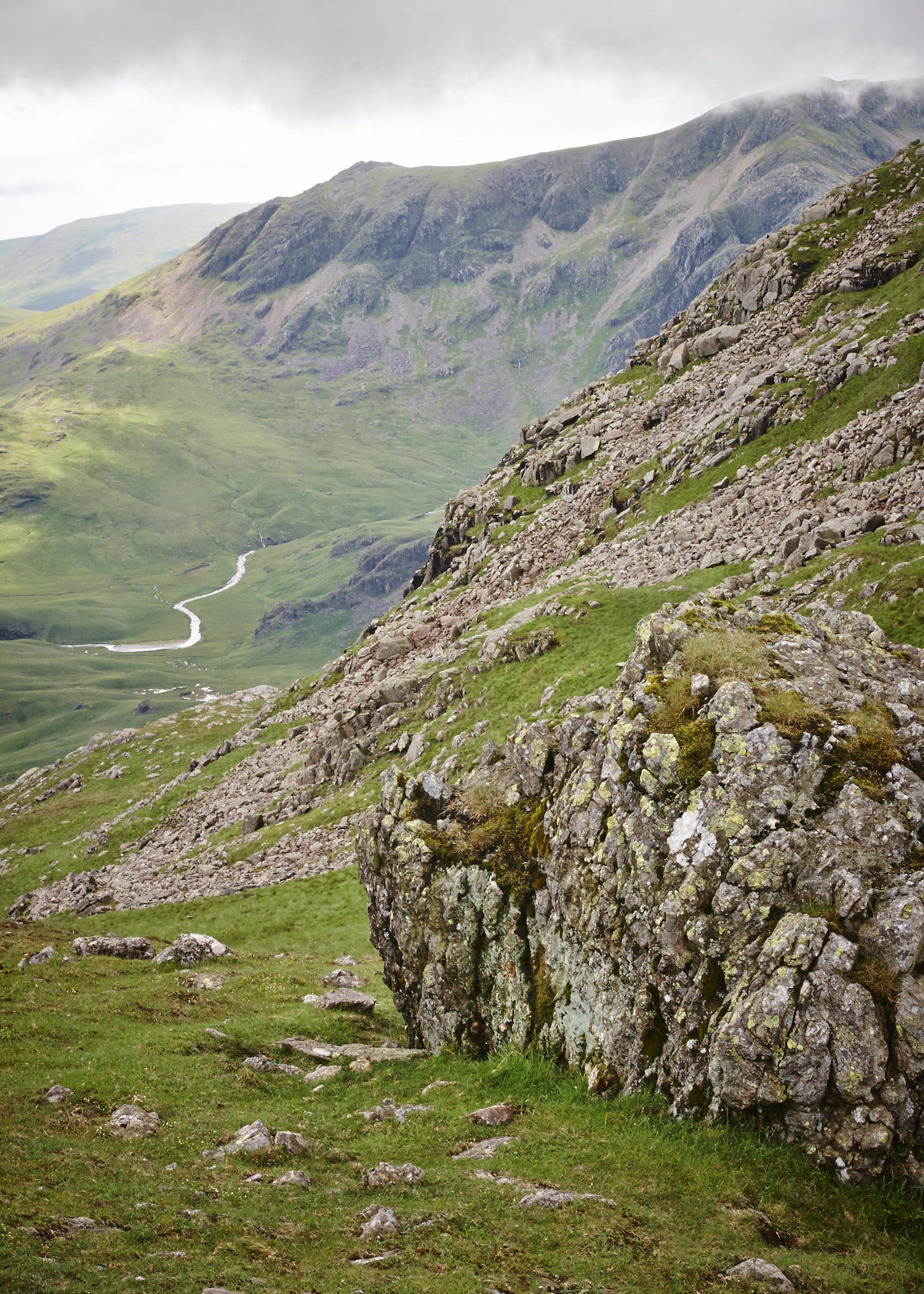 Lake District, Crickle Crags - 008