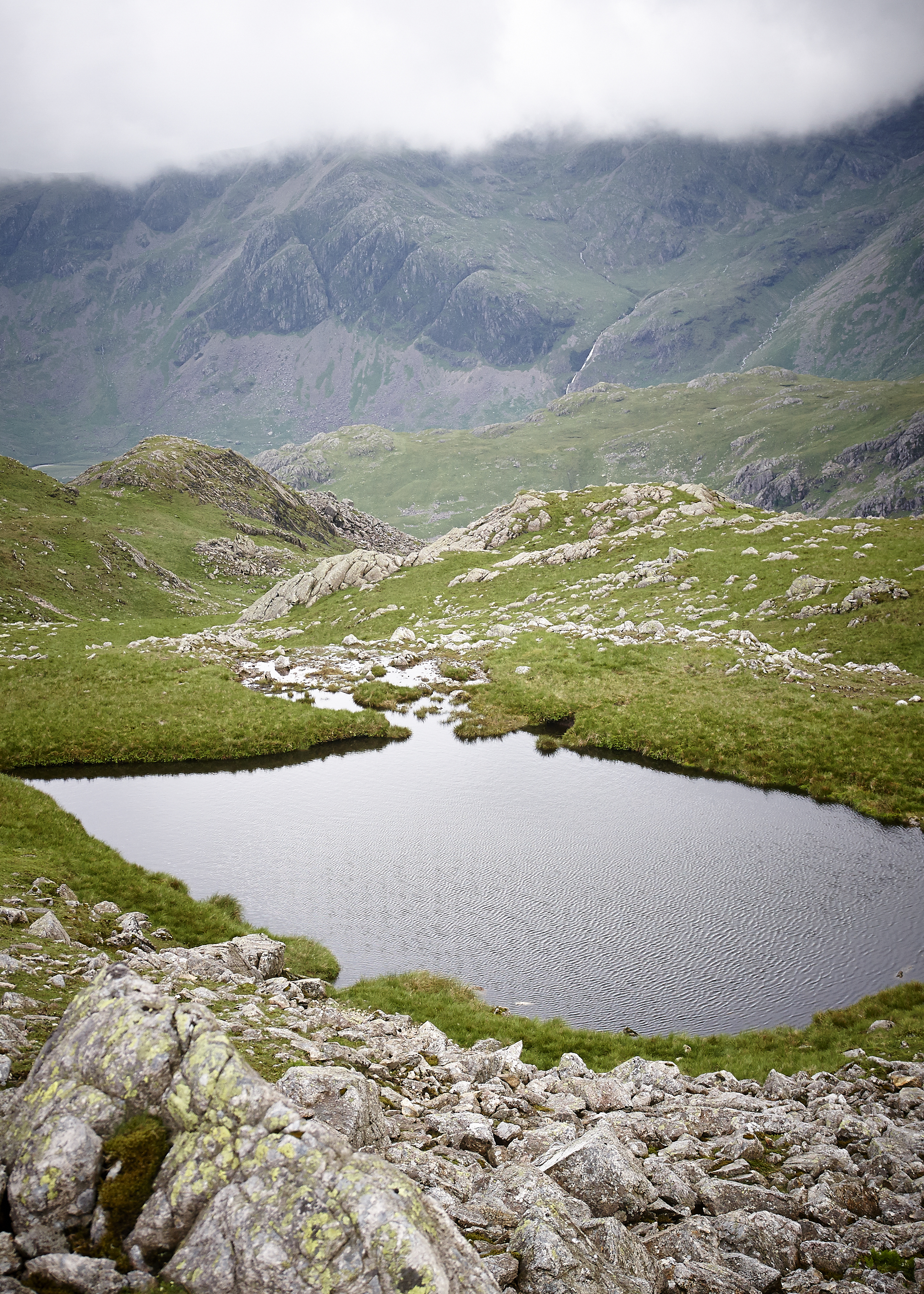Lake District, Crickle Crags - 011